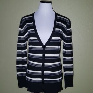 Poof Striped long sleeve  sweater size S